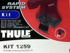 Крепёжный комплект для багажника Thule 1259 Mitsubishi Airtrek, 5-dr SUV, 01-
