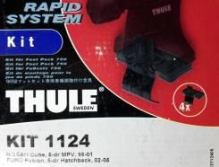 Крепёжный комплект для багажника Thule 1124 Nissan Cube, 5-dr MPV, 98-01, Ford Fusion, 5-dr Hatchback, 02-05
