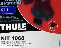 Крепёжный комплект для багажника Thule 1068 Honda Civic, 4-dr sedan, 96-00, Honda Civic Ferio, 4-dr sedan, 96-99, Acura EL, 4-dr sedan, 96-05