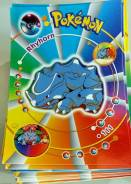 Pokemon Rhyhorn и другие, 8 открыток