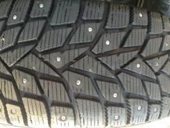 Dunlop Grandtrek Ice02. Зимние, шипованные, 2015 год, износ: 5%, 4 шт