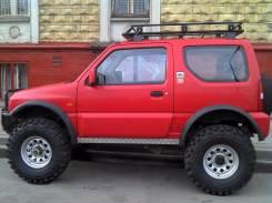 Комплект увеличения клиренса. Suzuki Jimny