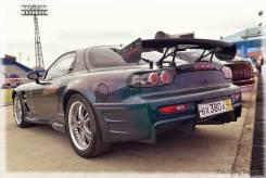 Накладка на порог. Mazda RX-7, FD3S