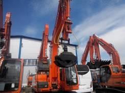 Doosan DX225 LC-V. Продаем перегружатель леса Doosan 225 DX с бревнозахватом, 5 800 куб. см., 14 000 кг., 21 500,00кг.