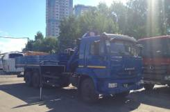 Камаз 65117. КМУ Palfinger РK 15500, 6 700 куб. см., 12 000 кг.