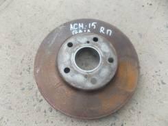 Диск тормозной. Toyota Gaia, ACM15G, ACM15