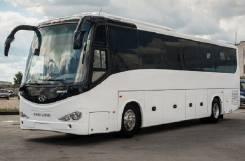 King Long XMQ6127. Новый туристический автобус, 8 900 куб. см., 51 место