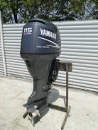 Yamaha. 115,00л.с., 4х тактный, бензин, нога X (635 мм), Год: 2006 год