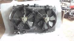 Радиатор охлаждения двигателя. Nissan Sunny, B15