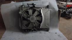 Радиатор охлаждения двигателя. Toyota Yaris, SCP10 Toyota Platz, SCP11 Двигатель 1SZFE