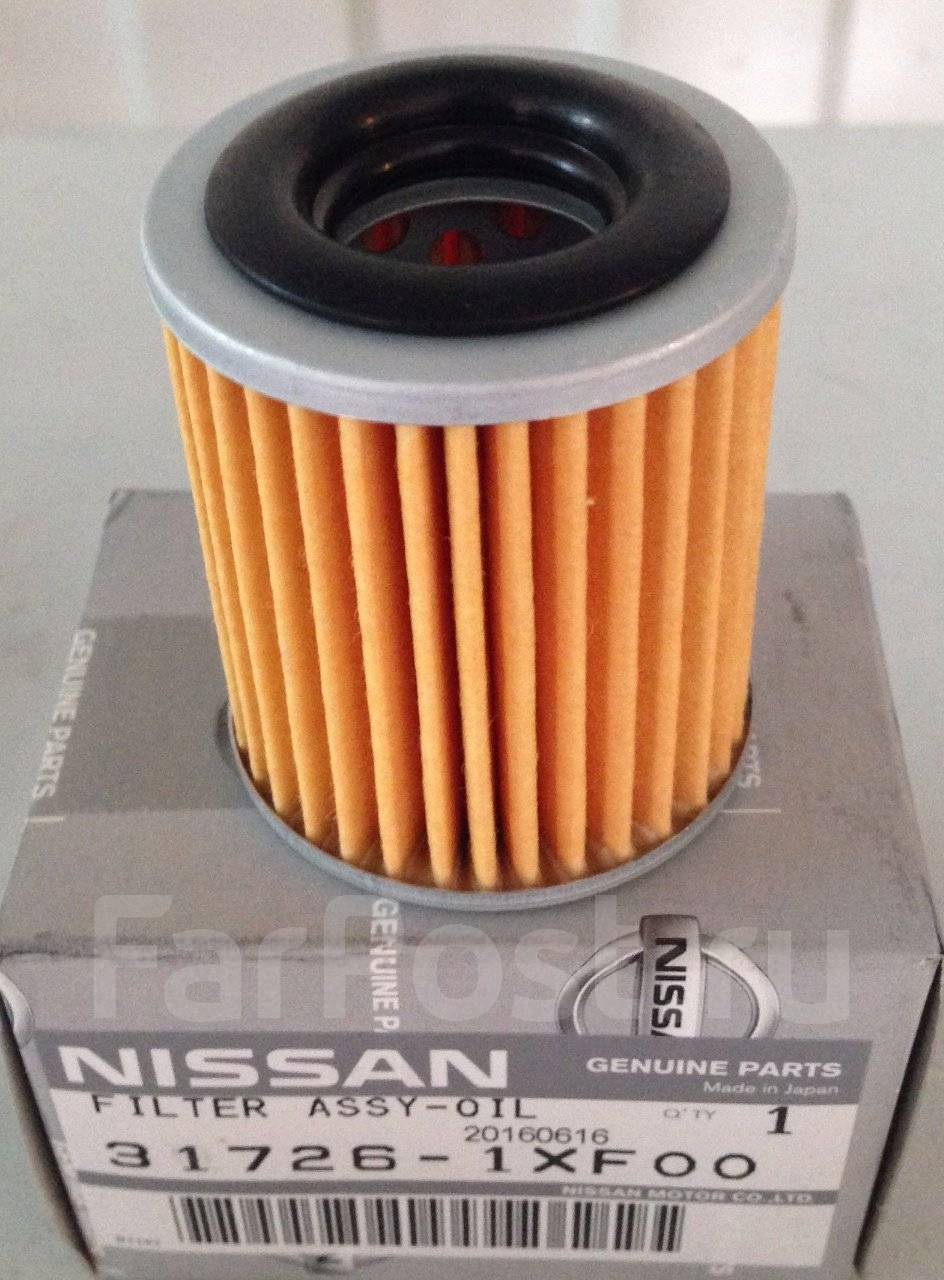 замена фильтра акпп на nissan serena c25