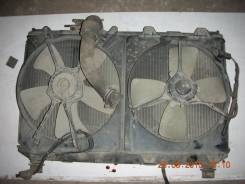 Радиатор охлаждения двигателя. Toyota Vista, SV30