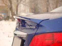 Спойлер. Hyundai Accent Hyundai Solaris