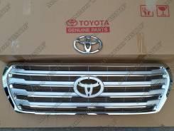 Решетка радиатора. Toyota Land Cruiser, URJ202, GRJ200, UZJ200, UZJ200W, URJ200, URJ202W, VDJ200, J200