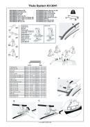 Крепёжный комплект для багажника Thule 2041 (MMC со спецместами)