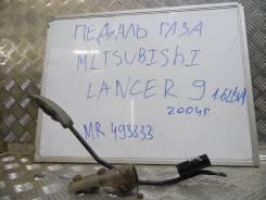 Педаль акселератора. Mitsubishi Lancer
