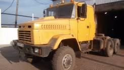 Краз 6443. Продаётся тягач -080 с п/п маз 9386 2006г. в. в Усть-куте, 14 800 куб. см., 59 000 кг.