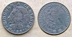 Мексика - 50 сентаво 1976 год