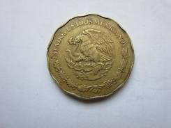 Мексика 50 сентаво 1993 год