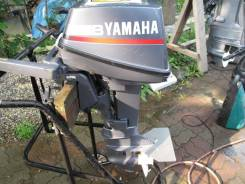 Yamaha. 8,00л.с., 2х тактный, бензин, нога S (381 мм), Год: 2000 год