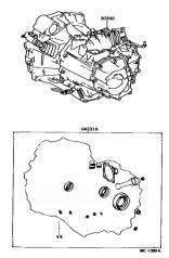 Ремкомплект коробки переключения передач. Toyota: Corona, Platz, ist, Vios, iQ, Avensis, Sprinter Trueno, Corolla, Yaris Verso, Probox, Tercel, Sprint...