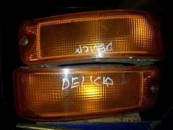 Повторитель поворота в бампер. Mitsubishi Delica