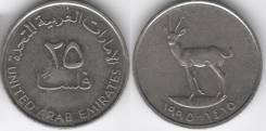 ОАЭ 25 филсов 1990 год