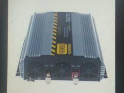 Преобразователь напряжения с 12 на 220 вольт Qumo 2500 Вт 12 v a.c. to