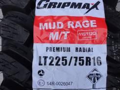 Gripmax Mud Rage M/T. Грязь MT, 2014 год, без износа, 2 шт