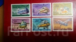 СССР Вертолеты 1980 год MNH