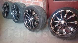 Продам Хромированый Impul AURA б/у R19 c шинами Bridgestone во Владиво. 8.5x19 5x114.30 ET45