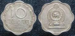 Шри-Ланка 10 центов 1978 год