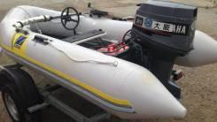 Zodiac. Год: 2012 год, длина 3,50м., двигатель подвесной, 30,00л.с., бензин