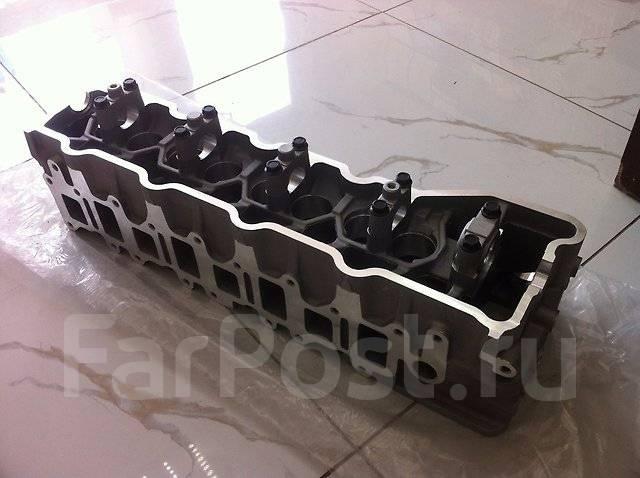 Головка блока цилиндров. Mitsubishi: L200, L300, Delica, Montero, Pajero Двигатель 4M40. Под заказ