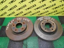 Диск тормозной. Nissan Teana, TNJ32, PJ32, J32, J32R Двигатели: VQ35DE, VQ25DE, QR25DE