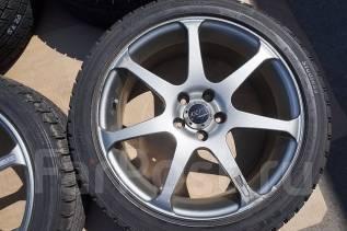 215/45R17 Зимние шины с литыми дисками AVS Model 7. Без пробега по РФ. 7.0x17 5x100.00 ET50 ЦО 73,0мм.