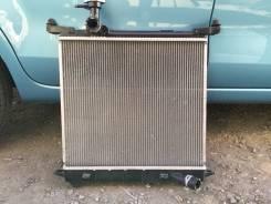 Радиатор охлаждения двигателя. Nissan March, K13