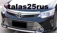 Накладка на решетку бампера. Toyota Camry, ASV51, ACV51, GSV50, AVV50