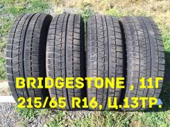 Bridgestone Blizzak Revo GZ. Зимние, без шипов, 2011 год, износ: 30%, 4 шт