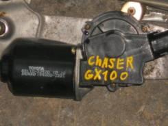 Мотор стеклоочистителя. Toyota Cresta, JZX105, GX105, JZX100, JZX101, GX100, LX100 Toyota Mark II, GX105, JZX105, JZX100, GX100, JZX101, LX100 Toyota...