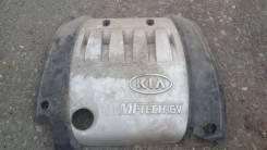 Крышка двигателя. Kia Spectra
