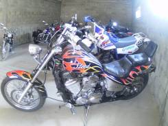Honda Steed 400. 400 куб. см., исправен, птс, без пробега