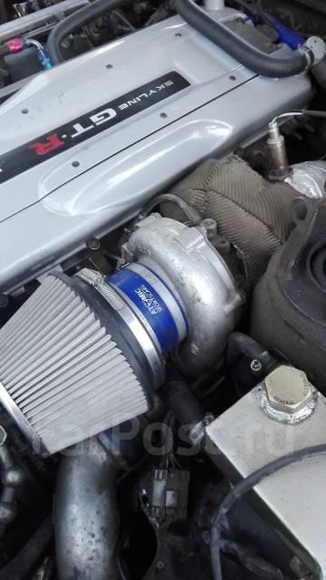 Турбина. Nissan GT-R Nissan Skyline, BNR32, GX81, GX90, JZX100 Toyota Chaser, GX81, JZX100, GX90 Двигатели: 1GGTE, 1JZGTE, FJ20T, RB25DET, RB20DT, RB2...
