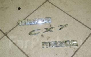 Эмблема. Mazda CX-7