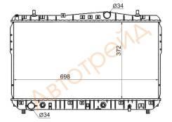 Радиатор DAEWOO NUBIRA/CHEVROLET LACETTI/SUZUKI FORENZA 1.4/1.6/1.8 03-