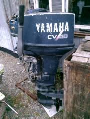 Yamaha. 40,00л.с., 2х тактный, бензин, нога L (508 мм)