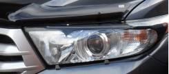 Накладка на фару. Toyota Highlander, GSU40L, GVU48, GSU45, GSU40, ASU40 Двигатели: 2GRFE, 2GRFXE, 1ARFE