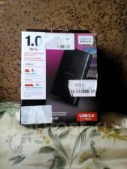 Внешние жесткие диски. 1 000 Гб, интерфейс USB3.0 USB2.0