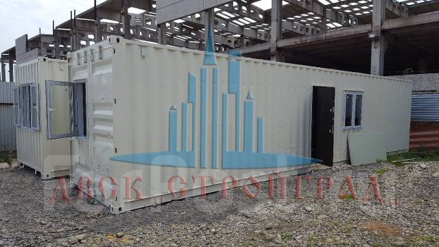Блок-модуль, Блок-контейнер, офис-контейнер, бытовой модуль. Под заказ