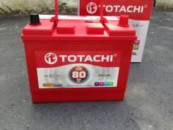 Totachi. 80 А.ч., левое крепление, производство Япония